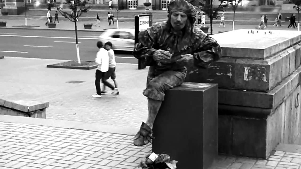 Street Artist / Nikon Coolpix L810 Video Test 720p