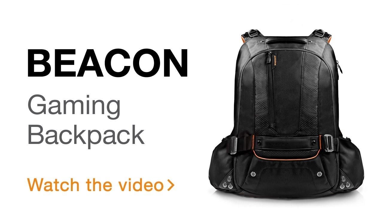 58c9241d0d8929 EVERKI Beacon Laptop Backpack w/Gaming Console Sleeve, fits up to 18