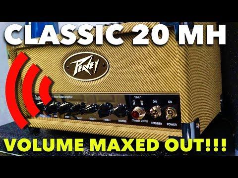 Peavey Classic 20 MH at MAX VOLUME
