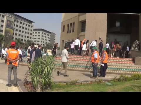 Evacuation of Lafarge Egypt Building 18 October 2016 1