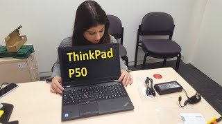 Lenovo ThinkPad P50 - Unboxing and inside look (4K)