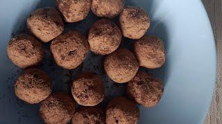 Шоколадные трюфели с сыром конфеты рецепт