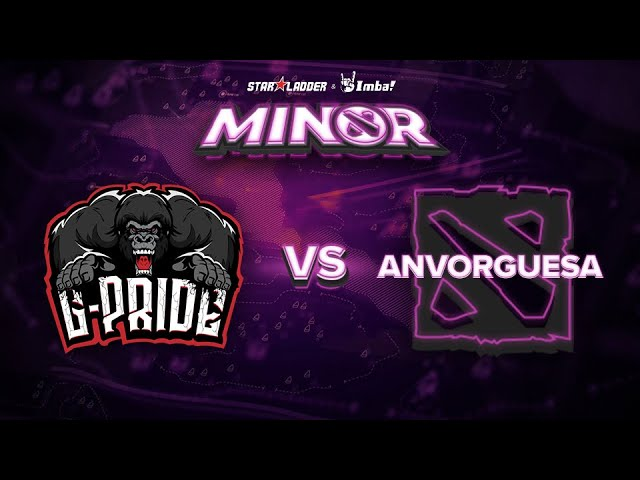 Gorillaz-Pride vs Anvorguesa Game 2 - SL ImbaTV Minor SA Qualifier: Grand Finals