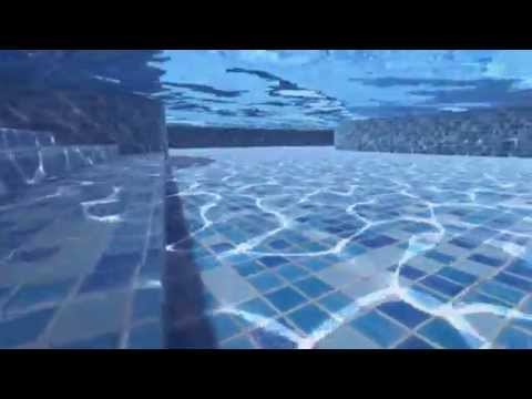 Water texturing with the Caustics Generator software