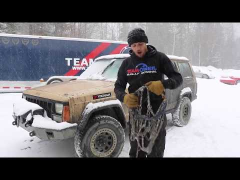 Team O'neil using TireChain.com Diamond Truck and SUV Tire Chains