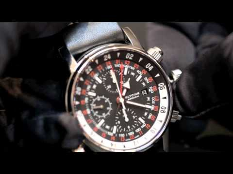 Fonctionnement Chrono GMT Airman 08 de Glycine