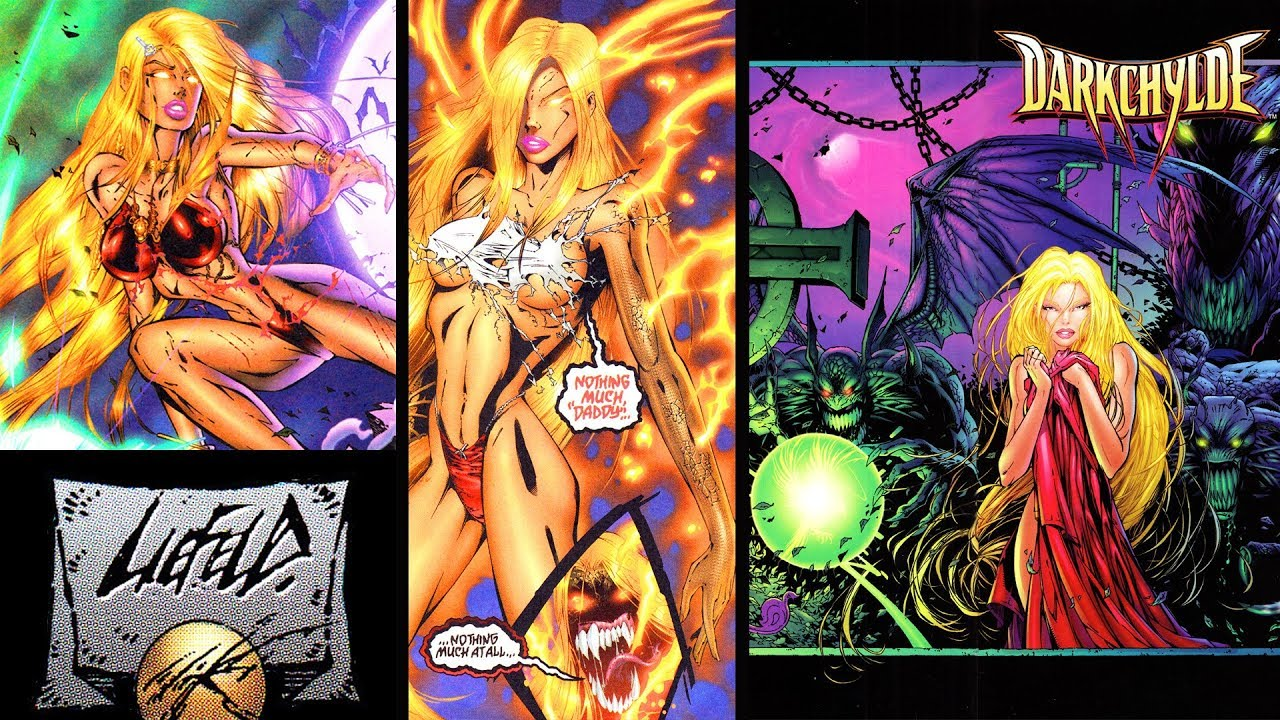 Download DARKCHYLDE: The sexiest comic in history!!