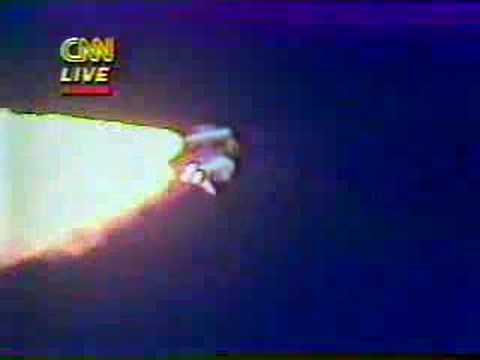 Challenger Disaster Live on CNN - YouTube