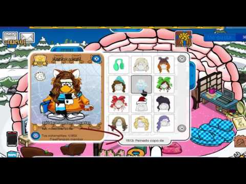 codigos de pelo para chicas en free penguin