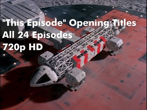 """Space 1999 TV Series First Season """"This Episode"""" Opening Titles"""