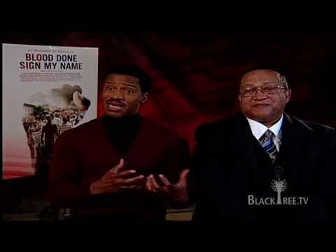 Blood Done Sign My Name with Nate Parker & Dr. Ben Chavis