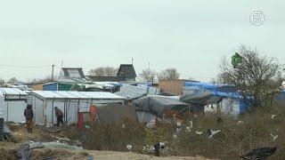 Почти 1000 мигрантов выселяют из «джунглей» Кале (новости)(http://ntdtv.ru/ Власти французского города Кале начинают освобождать от мигрантов южную часть местного стихийно..., 2016-02-22T09:33:29.000Z)