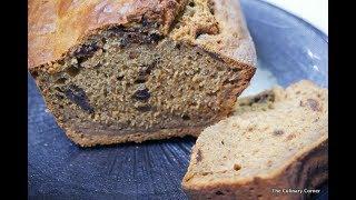 Date and Banana loaf Cake