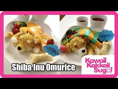 Shiba Inu Omurice