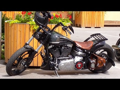 custom harley davidson fxsb softail breakout youtube. Black Bedroom Furniture Sets. Home Design Ideas