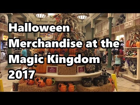Halloween Merchandise at Magic Kingdom | 2017 | Walt Disney World