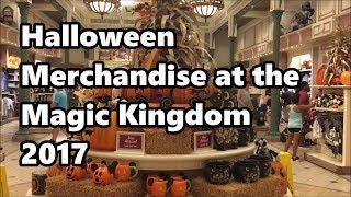 Halloween Merchandise at Magic Kingdom   2017   Walt Disney World thumbnail
