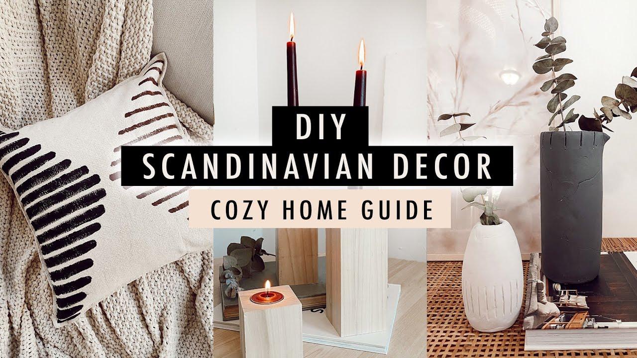 DIY SCANDINAVIAN DECOR + Guide To A Cozy Home | XO, MaCenna