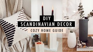 DIY SCANDINAVIAN DECOR + Guide To A Cozy Home | XO, MaCenna