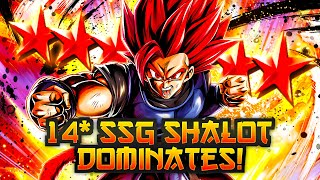 14 Star Shallot Is A MONSTER! Shallot At FULL POWER! | Dragon Ball Legends PvP