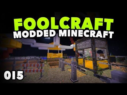 FoolCraft 015   FERRIS WHEEL DESIGN   A Minecraft Modded Let's Play