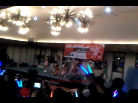 [FANCAM] JKT48 - Ponytail to Shushu at Jak-Japan Matsuri 23.09.2012 Part 1
