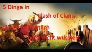 5 Dinge in Clash of Clans die du hoffentlich noch nicht wusstest #01