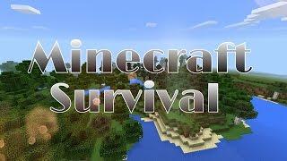 Nova Série Minecraft Survival # Ep 1 Achamos uma Casa abandonada