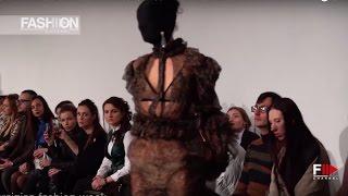 GUDU Fall Winter 2017 18 Ukranian Fashion Week   Fashion Channel