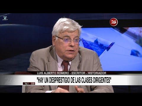"""Luis Alberto Romero en """"La mirada"""" de Roberto García - 07/08/17"""