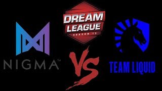 🔴Dota 2 Live [Eng Cast]Nigma VS Liquid (0:1) | Dream League Season 13 |