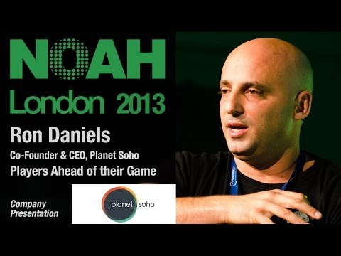 Ron Daniels - Co-Founder & CEO, Planet Soho - NOAH13