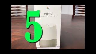 5 Interesting Google Home Commands