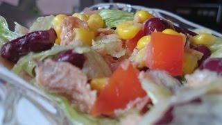 Рецепты салатов пошаговые просто и недорого