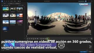 Presentamos ActionDirector 2   Editor de Cámara de Acción en 360°