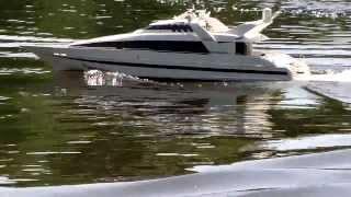 Superyacht Moonraker. RC Modell, Teil 2: Refit + Soundcheck