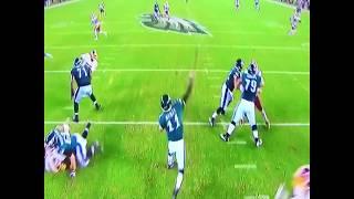 Carson Wentz Eagles highlights vs Redskins (10/24/2017)