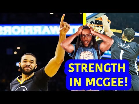 JAVALE MCGEE NOT STARTING WAS THE PROBLEM! WARRIORS VS KNICKS  {DUBNATION HIGHLIGHT REACTION}