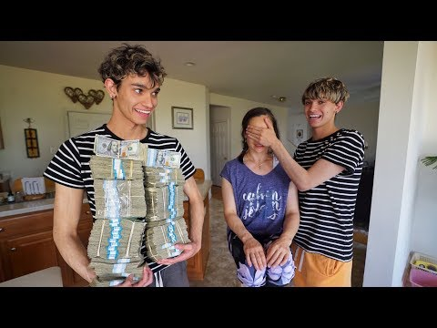 WE MADE OUR MOM CRY...HER DREAM CAME TRUE!