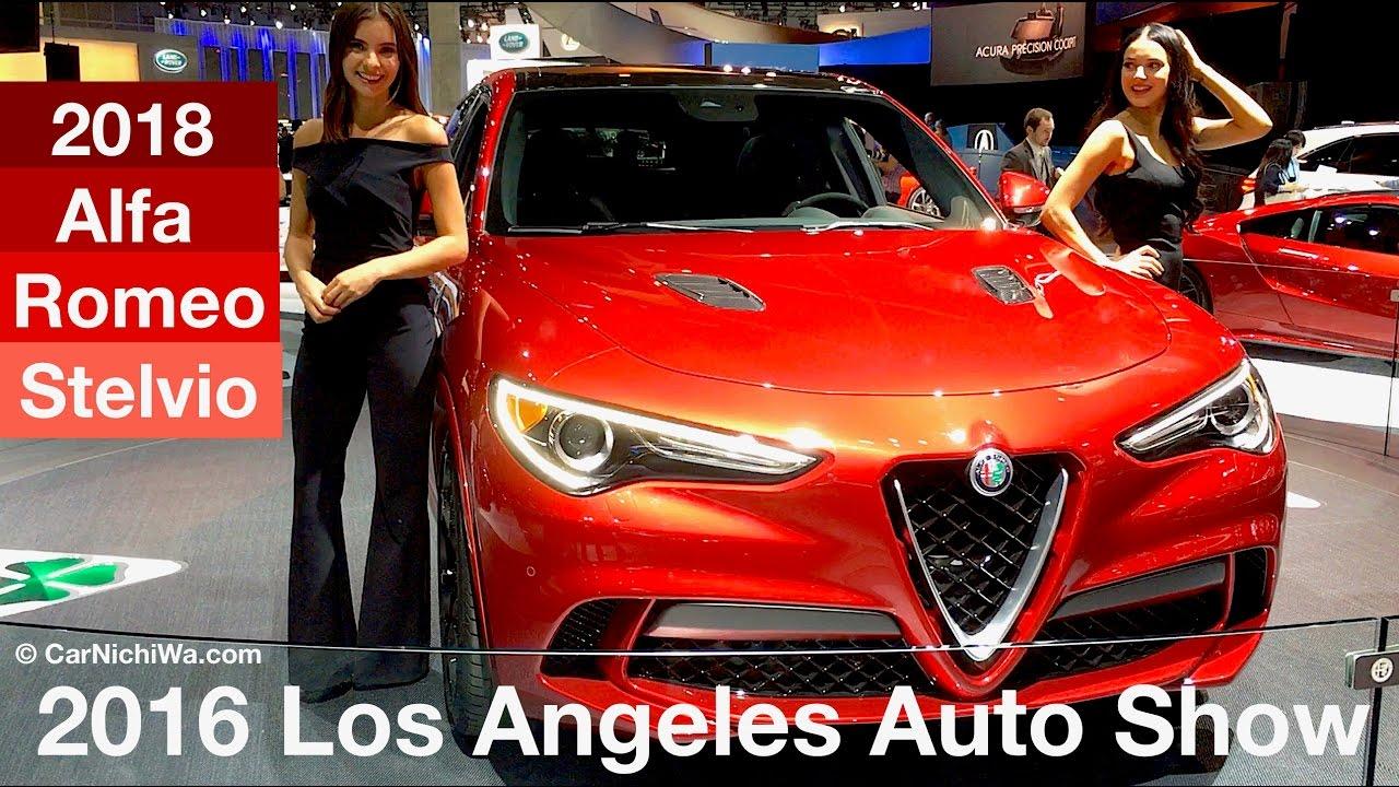 Alfa Romeo Los Angeles >> 2018 Alfa Romeo Stelvio 2016 Los Angeles Auto Show Carnichiwa
