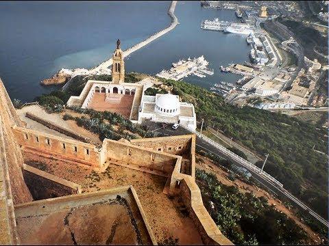 """Oran 2017 : le """"Murdjajo"""", la Basilique et le Fort de Santa-Cruz"""