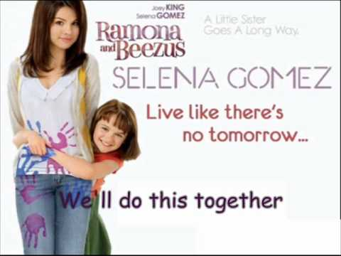 Selena Gomez - Live like there's no tomorrow (Music/Karaoke)