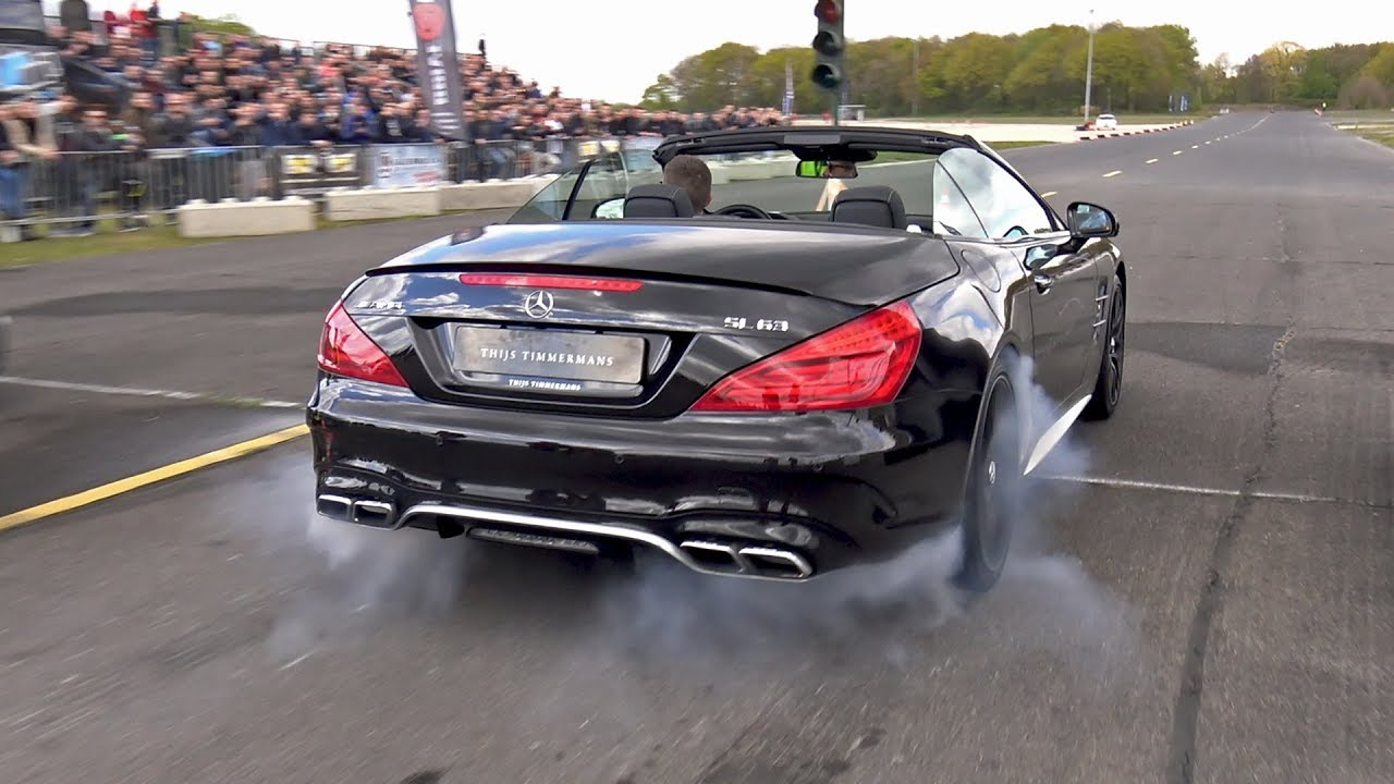 585HP Mercedes Benz SL63 AMG   Lovely Sounds!