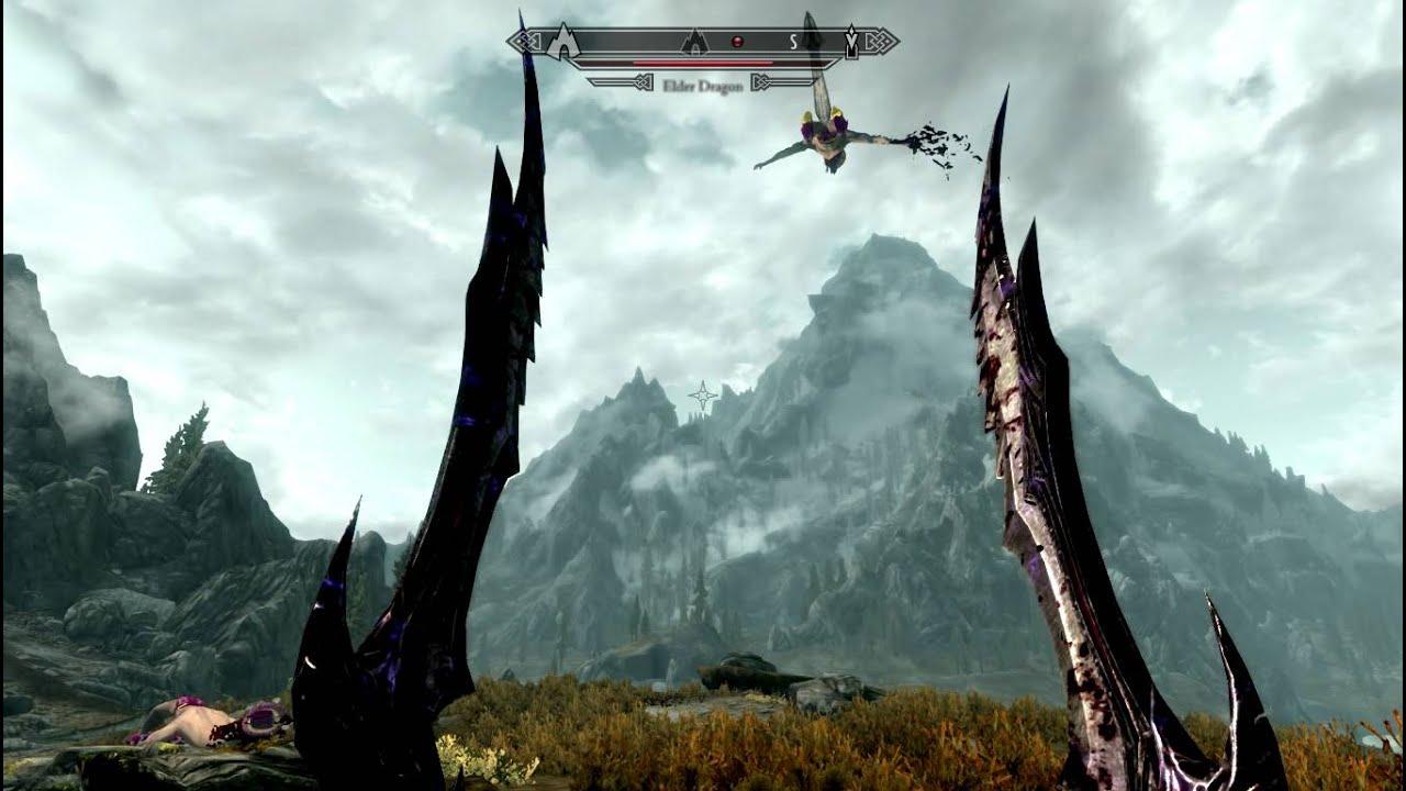 macho man dragons skyrim mod youtube