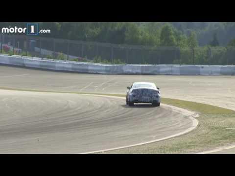 Mercedes AMG GT 4 door spy video