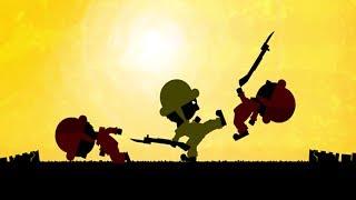 Мультик Игра про войну # Дневник солдата В тылу врага