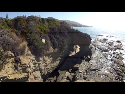 Flying through a tunnel Laguna Beach w/ a side of Jello