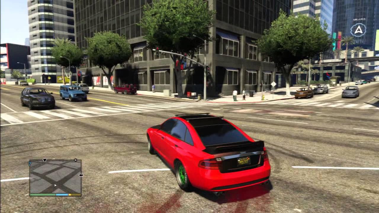 GTA AUDI RS TEST DRIFT TUNING CAR YouTube - Audi car gta 5