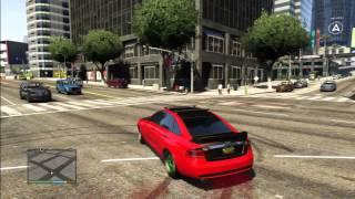 GTA 5 AUDI RS6 TEST DRIFT TUNING CAR