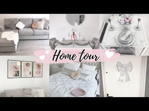 NEW BUILD HOME/APARTMENT TOUR! PINK, WHITE & GREY | Luxe On A BUDGET | Redrow | Hazel Maria Wood